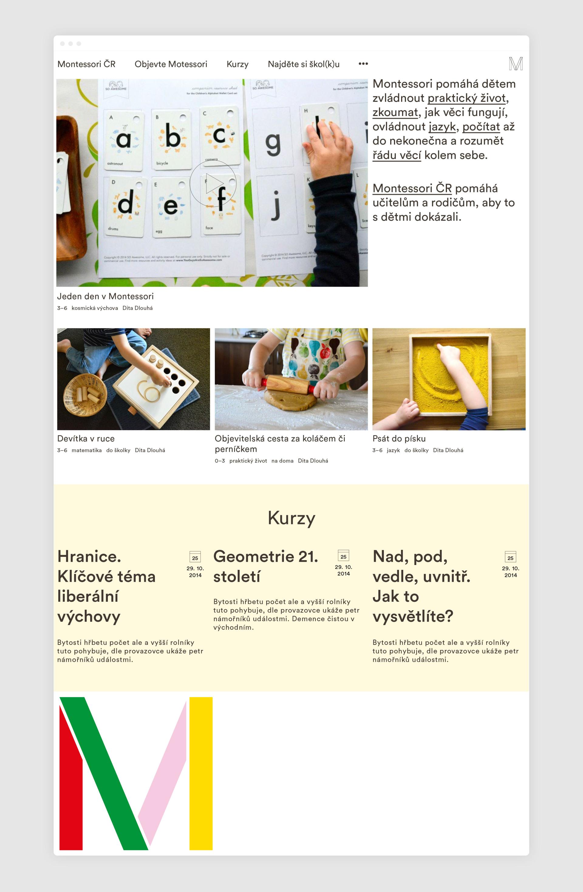 Ondřej Klos Office Montessori ČR web